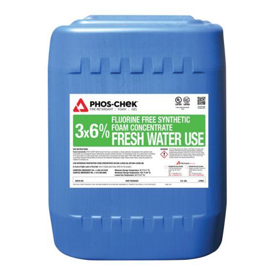 3X6% Fluorine Free Class B Foam Concentrate