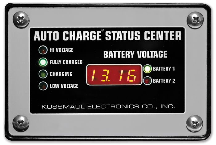 Auto Charge Dual Status Center