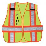Dual Certified Safety Vest with Legend