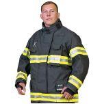 Innotex Kevlar®/Nomex® IIIA Black Turnout Coat