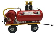 High Performance Stored Energy CAF Fire Suppression Unit  - Wheeled Unit