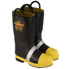 Hellfire™ Men's 14″ Kevlar® Insulated Rubber Bunker Boot