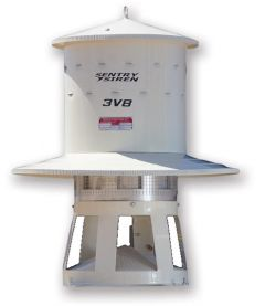 Skirted Warning Siren in Single-Phase or Three-Phase