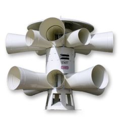 Dual-Rotor/Two-Tone Warning Siren