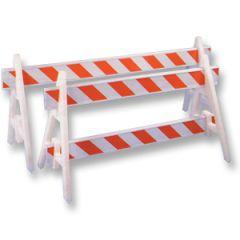 A-Frame Plastic Barricades