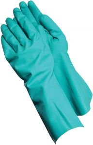 Nitrile Rubber Hazmat Gloves