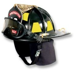 American Heritage Leather Fire Helmet