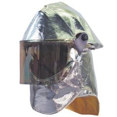 Fire Helmet w/Aluminized Cover