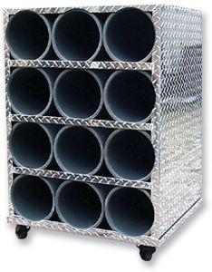 12 Cylinder Storage Unit