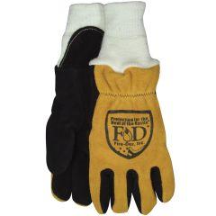 Cow Palm/Elk Back Gloves