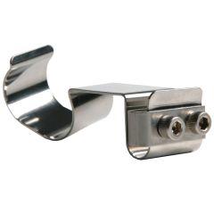 Adjustable Stainless Steel Helmet Clip