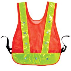 LED Flashing Safety Vest