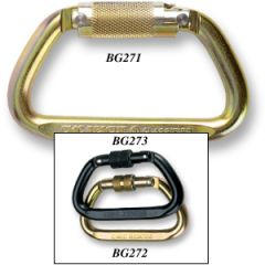 CMC Rescue Steel Locking D Carabiners