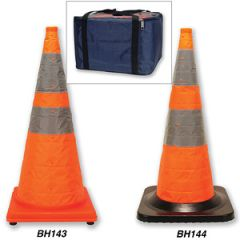 Pop-Up Flashing Cones