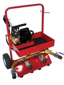 Fire Hose Tester w/Tool Tray