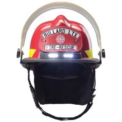 Structural Fire Helmet with TrakLite™ Lighting System