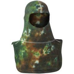 Green Camo Hood