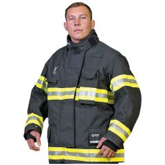Innotex Kevlar®/Nomex® IIIA Black Turnout Coat