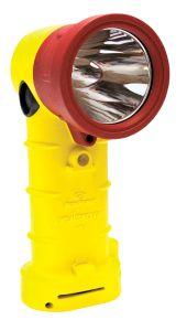 Yellow BT2 LED Flashlight