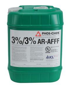 Phos-Chek 3% x 3% AR-AFFF Class B Foam Concentrate