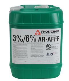 Phos-Chek 3% x 6% AR-AFFF Class B Foam Concentrate