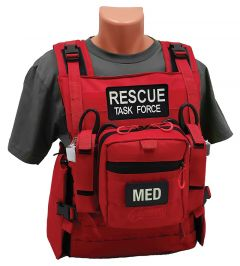 Rescue Task Force Responder Vest with Supplies