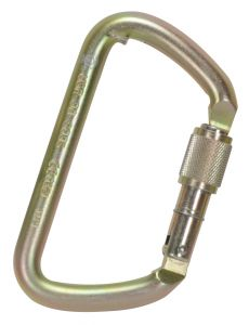 Large D Carabiner Screw Lock