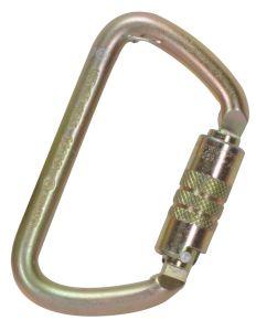 Large D Carabiner Twist Lock