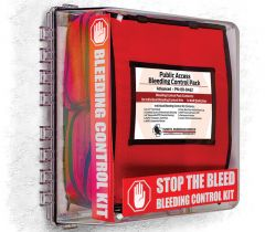 Public Access Bleeding Control System