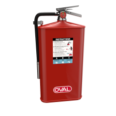 10 lb Dry Chemical ABC fire extinguisher (cabinet application)
