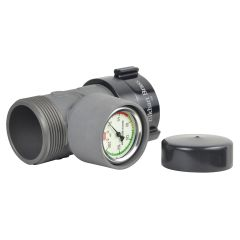 High Rise In-Line Pressure Gauges