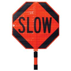 Roll-Up Stop/Slow paddle