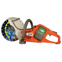 TEAM Husqvarna K12FD9 Saw Bundle