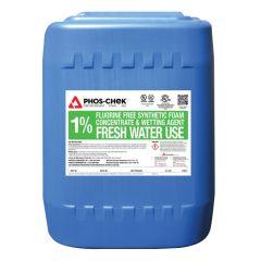 1% Fluorine Free Class A/B Foam Concentrate