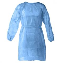 Disposable Hospital Gown with Tie Back - Case of 120