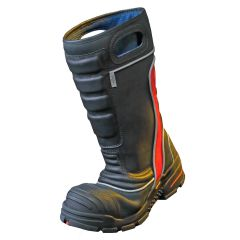 FDXL200 Red Leather Structural Firefighting Boot