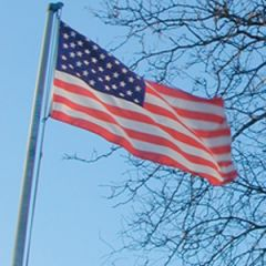 American Flags, nylon