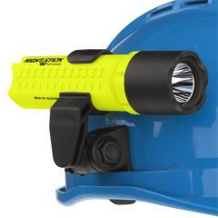 Intrinsically Safe 3 AA Flashlight with Multi-Angle Mount