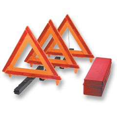 Three-Triangle Vehicle Warning Kit