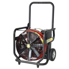 "Valor Series Li-Ion Battery System 18"" Electric PPV Fan"