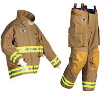 Morning Pride® Edge Gold PBI Turnout Coat and Pants