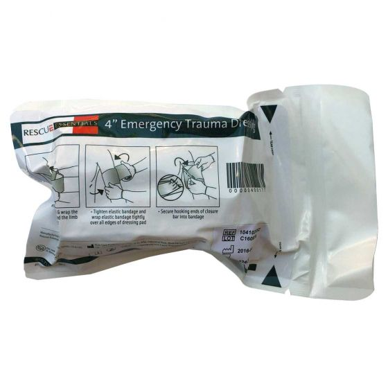 "4"" Emergency Pressure Dressing"