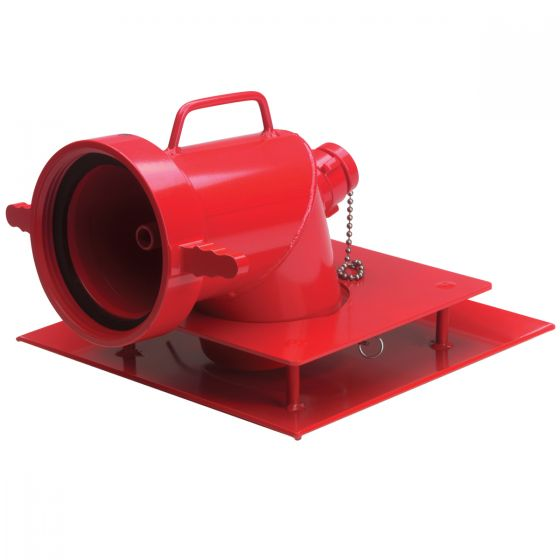 Strainer with Jet Siphon