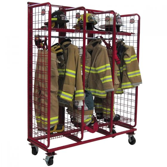 USA Single-Sided Mobile Red Rack™