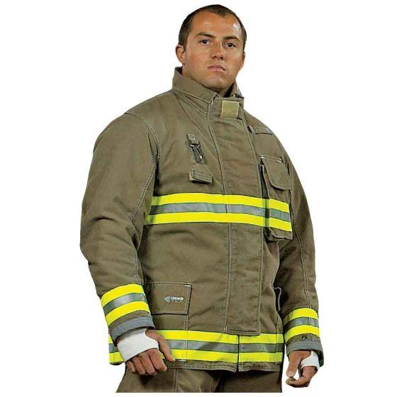 Innotex Nomex®/Kevlar® Khaki Turnout Coat