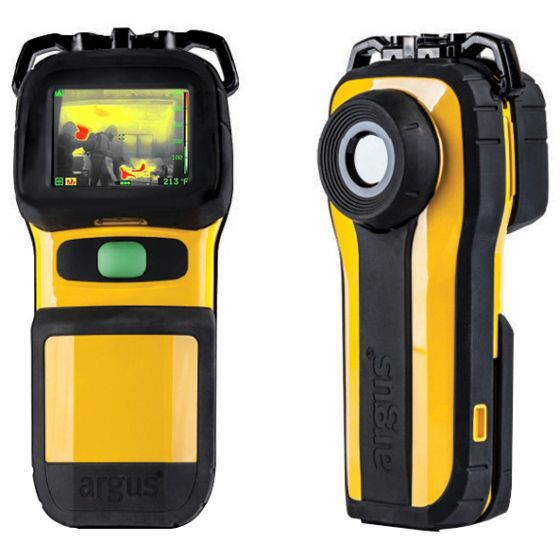 Mi-TIC E 320 30 Hz Thermal Imager front and back