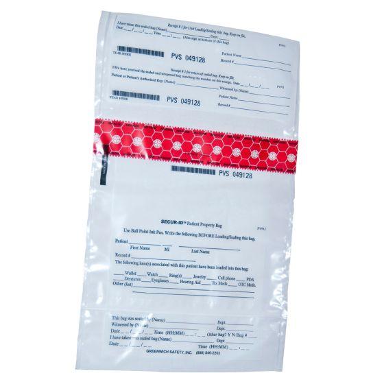 SECUR-ID™ Patient Property Bag