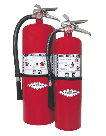 Purple K B:C Potassium Biocarbonate Extinguishers