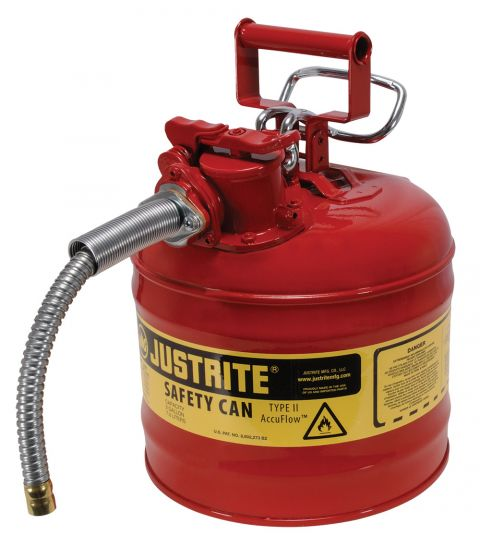Dual Opening Transfer Gas Cans