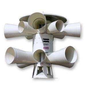 Dual-Rotor/Two-Tone Warning Siren